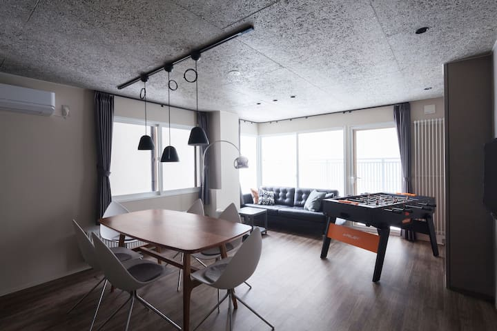 City center! 200㎡ 4BR/5toilets/4shower/Free Wi-fi