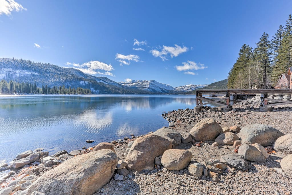 Enjoy easy access to Tahoe Donner amenities - photo courtesy of Tahoe Donner.