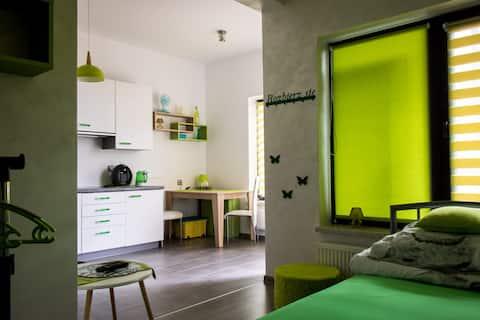 Apartament Zielony nad stawami