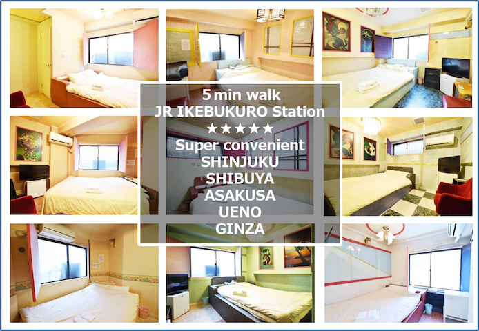 New☆super convenient 5min walk JR IKEBUKURO STA☆