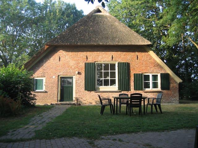 Vakantie boerderij - Baak - Blockhütte