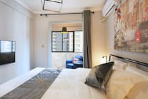 伦敦の之恋大床套房(Soft bed设计师公寓)