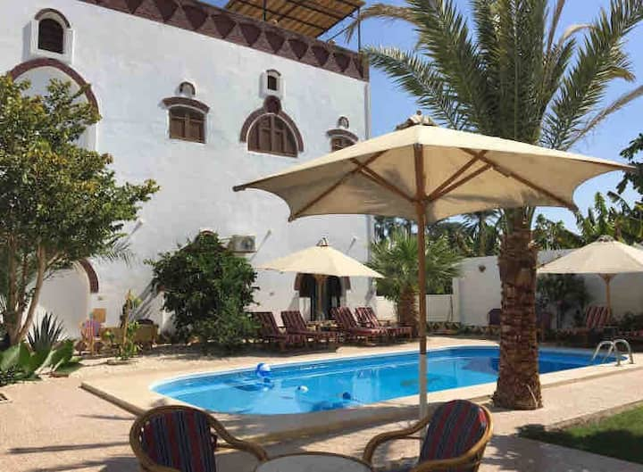 Villa Shams: max 7 persons and private pool