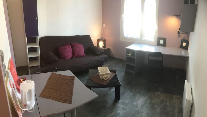 Studio  Roubaix proche centre-ville