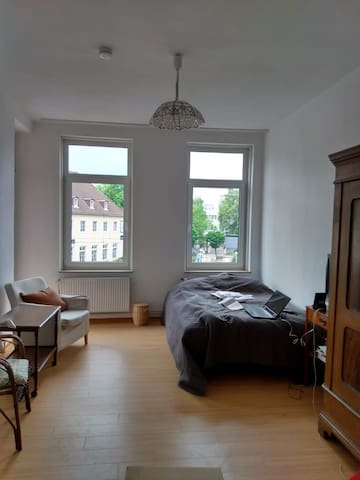 Guest room in family apartment