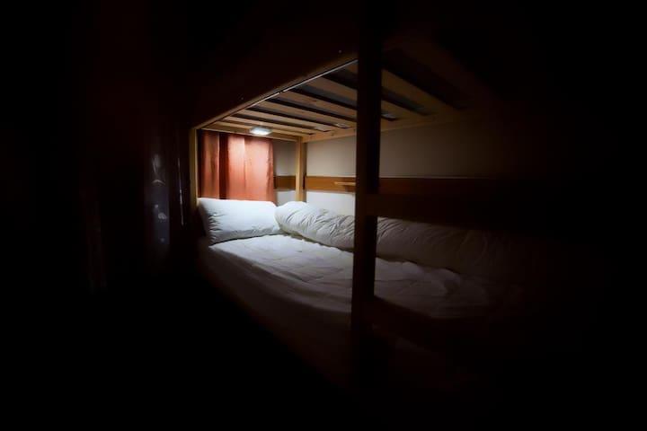 Кровать в общем 4 - местном номере (4)