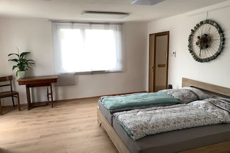 Ferienwohnung Ertl, (Assamstadt), Ferienwohnung, 85 qm, 2 Schlafzimmer, Balkon, max. 4 Personen