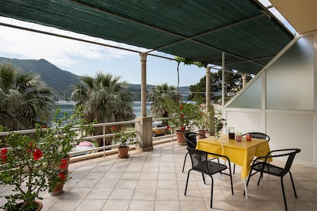Apartments Bujak - Superior Studio Apartment with Terrace and Sea View