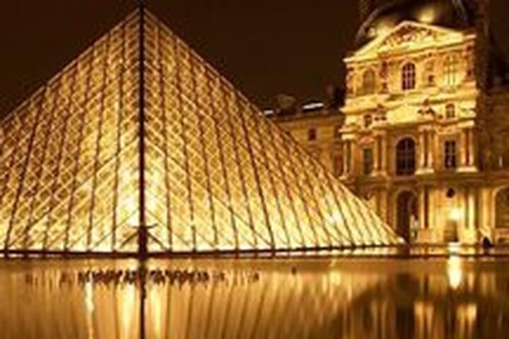 Bel appartement Louvre-Rivoli