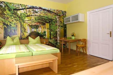 Doppelzimmer plus mit großem Balkon - Ostseebad Heringsdorf - Rumah