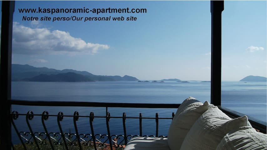 Breathtaking view and quietness... - kas - Appartement