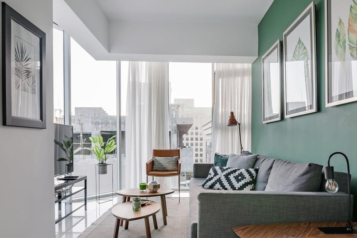 Airy Piantini Apartment near Acropolis Center