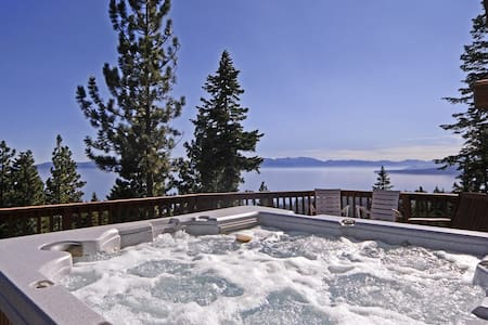 Clearview 5BR Panoramic Lake Views & Hot Tub! - Σπίτι