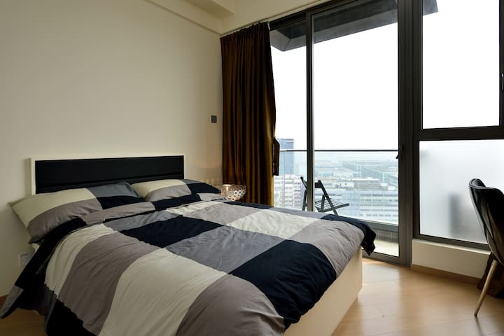 Sea view modern and clean studio - Hung Hom - Apartament