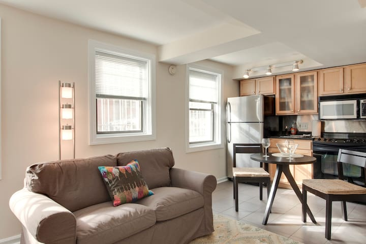 Prime studio apt w/ priv entrance - Washington - Apartment