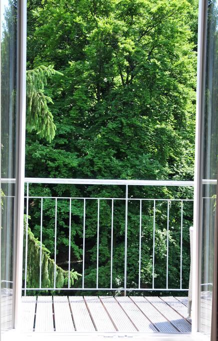 Ausgang zum Balkon