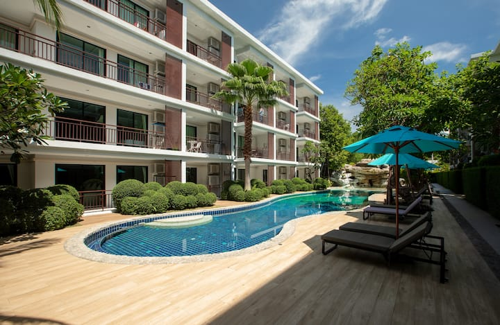 Уютные двуспальные апартаменты на Раваи