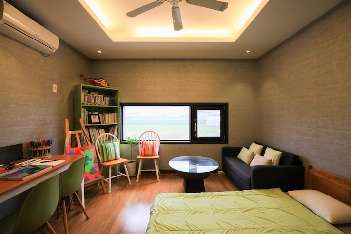 A-room (Designer of the room) - Dodubong 6-gil, Jeju-si - Bed & Breakfast