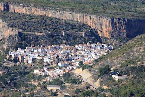 Chulilla climbing, compleet flat, 4pers=35€