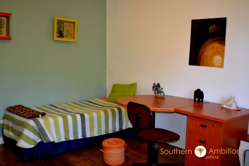 Spacious single and shared rooms