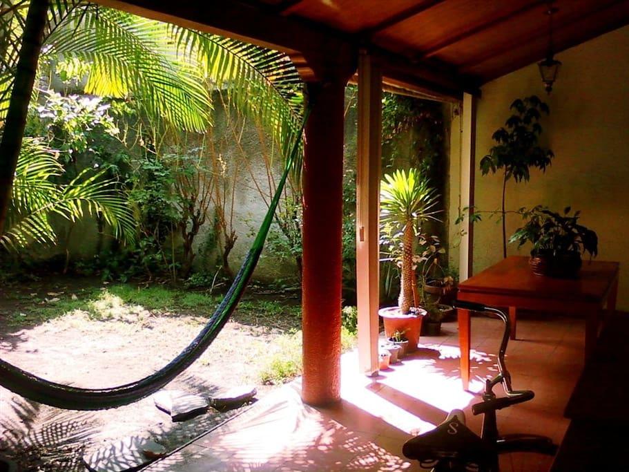 Jardin. Un espacio para relajarse