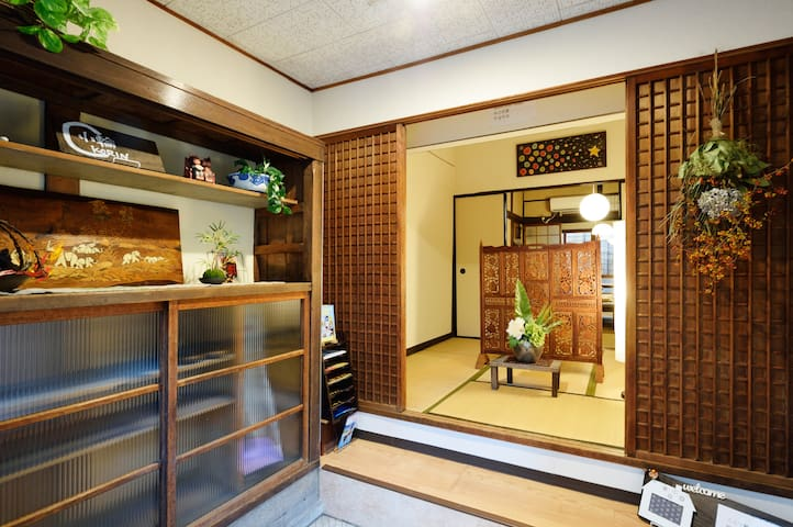 TRADITIONAL HOUSE:TATAMI ROOM - 大阪市 - Rumah