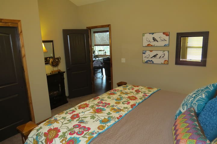 King Suite with flat screen TV and DVD player