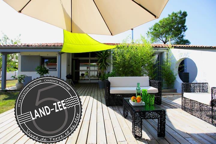 Villa Land-Zee, à 10mn de Royan , 8 pers - Saujon - วิลล่า