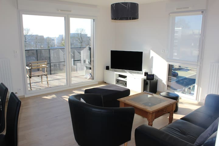 Bel appartement à 3km de Rennes - Vezin-le-Coquet - Pis