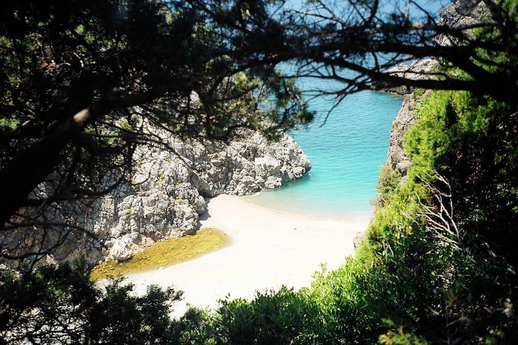Kalami, Mylopotamos secret beach