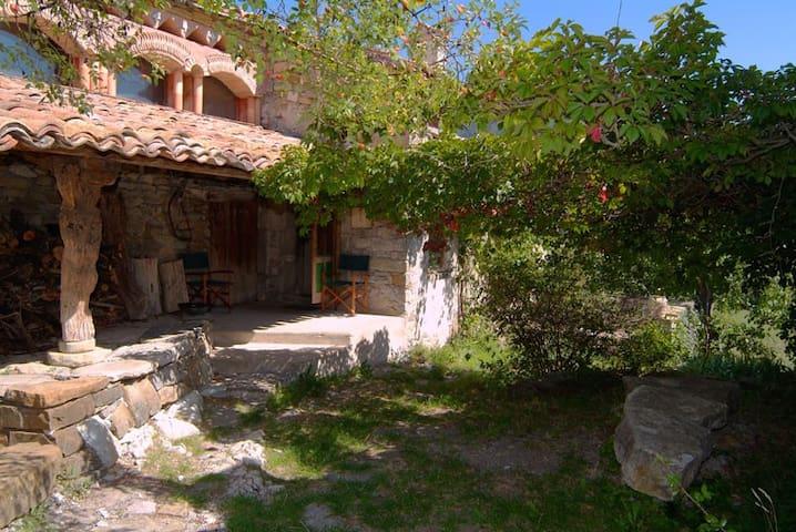 maison de caractère en pierres et éco-construction - Montclus - House