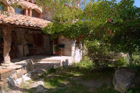 maison de caractère en pierres et éco-construction - Montclus