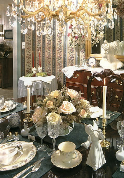 The formal dinning room.