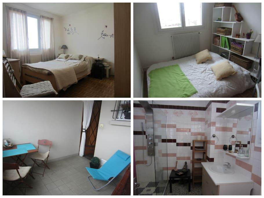 Appartement lumineux 6 7 personnes apartamentos en - Appartement spacieux lumineux en suede ...