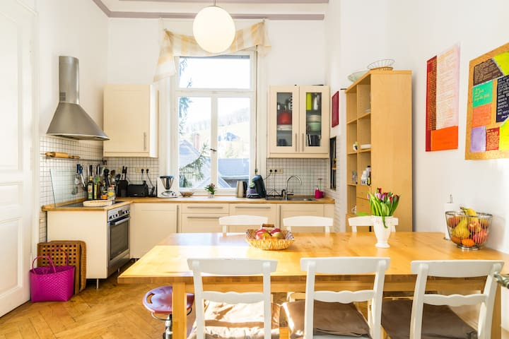 Das ist unsere Küche