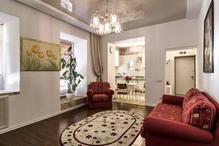 Атмосферные апартаменты в самом центре