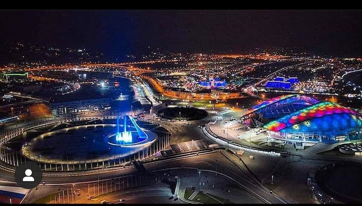 Апартаменты у Олимпийского парка