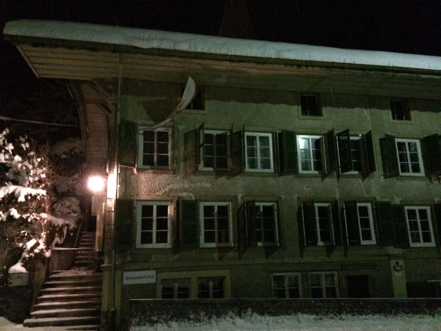 House in Winter, Ferbruary 2015.