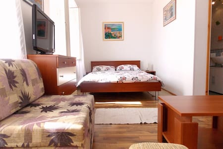 Comfy Studio with Balcony and Sea View - Dubrovnik