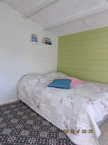 Heltoften, Hytten i haven - Nykøbing Mors - 家庭式旅館