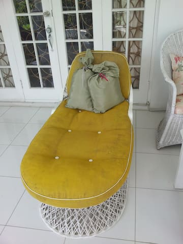lounge on back veranda