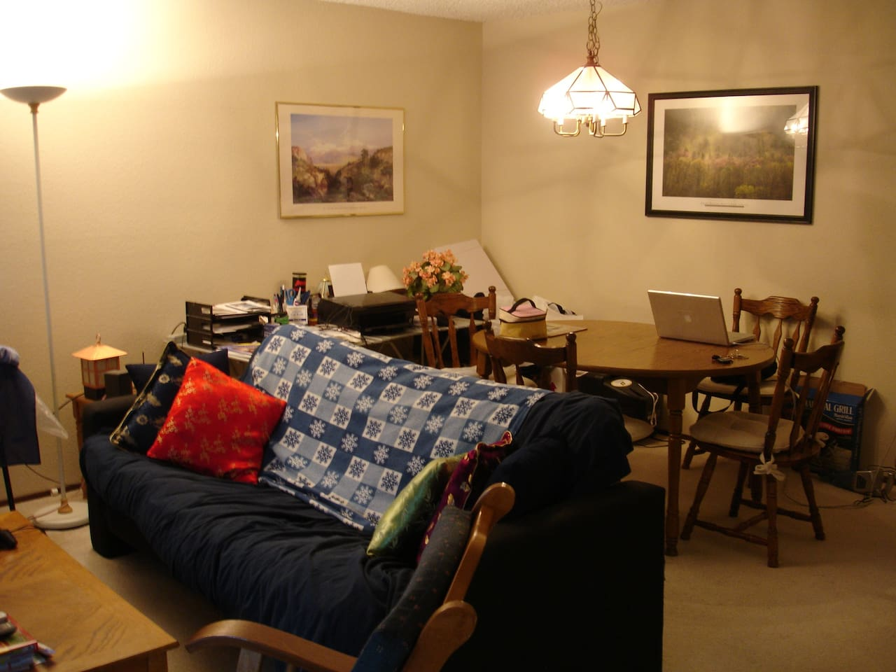 Living Room / Dining Room Area