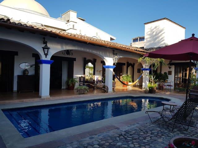 Authentic Mexican Hacienda.  BUGAMBILIA ROOM