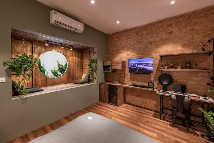 Hidden Gem | Loft Studio in Saigon City Centre