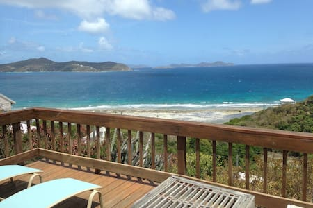 Spyglass Hill, vacation home - Coral Bay - House
