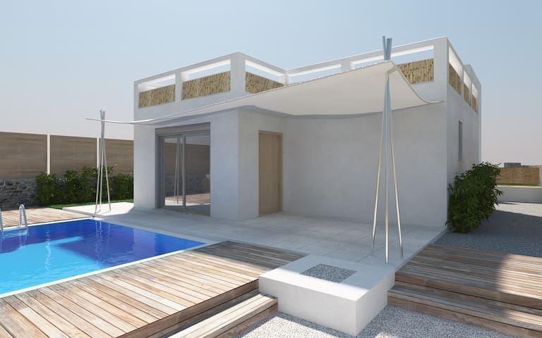 Thalasses luxury sea front villas  - Sfakaki - Villa