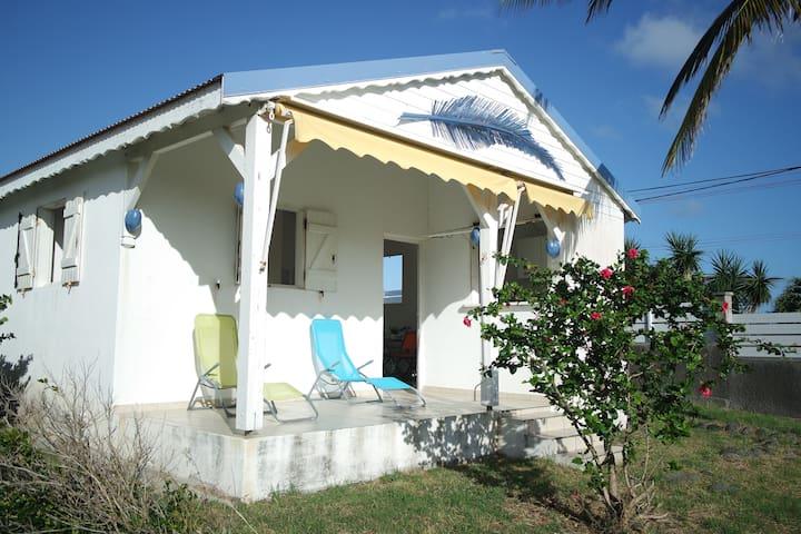 Blue Palm House Vue mer 5 min à pied du littoral