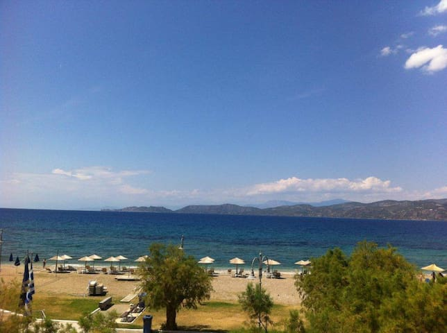 Great flat with amazing sea view - Corinth - Appartement