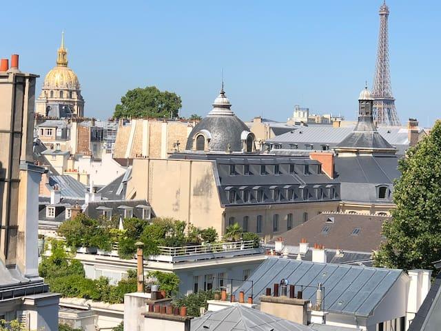 Saint-Germain   Science Po tête dans le le ciel