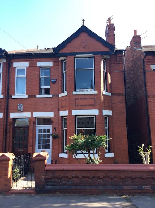 Victorian house in Cheadle Heath, Stockport